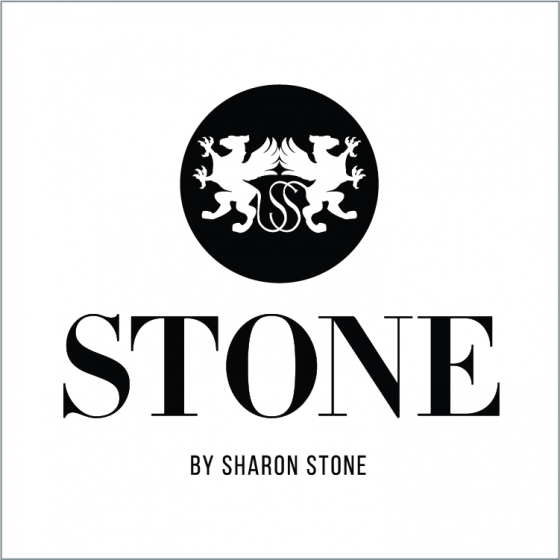 Stone by Sharon Stone logo (concept art for CBD brand)