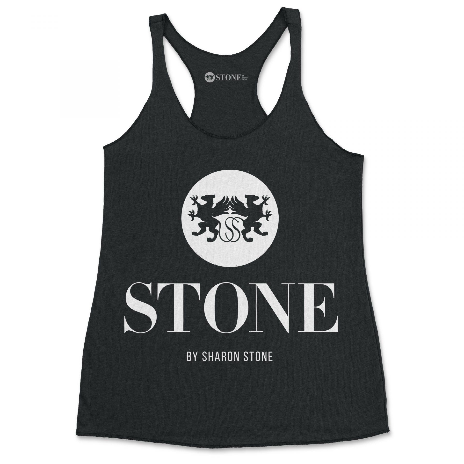 Stone by Sharon Stone logo tshirt